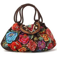Inspiration - embroidered bag