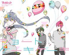 Image result for shortcake cake manga