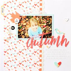 I am so thrilled to be here, sharing my first layout on the Felicity Jane blog…