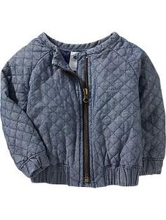 Quilted Chambray Jackets for Baby | Old Navy