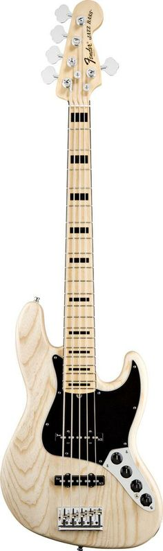 Fender American Deluxe Jazz Bass V (Five String) Ash