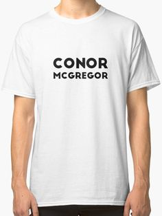 Conor McGregor by 47T-Shirts