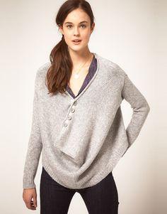 This Elizabeth & James sweater looks so cozy!!!!