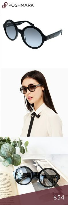 KATE SPADE ♠️ Khrista Sunglasses Glasses are in overall great conditions. ka... Kate Spade Sunglasses, Cat Eye Sunglasses, Sunglasses Accessories, Women Accessories, Overalls, Closet, Style, Swag, Armoire