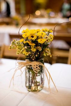 Western/Rustic motif mason jar. | western theme party
