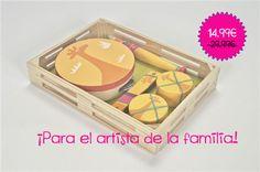 ¿Buscas un #juguete original y #educativo? #Regala este Set de #instrumentos para el pequeño artista de la familia