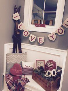 Valentines entryway