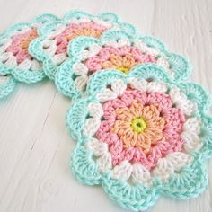 Flower Coaster Tutorial