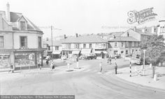 Brynmawr, Market Square c.1955, from Francis Frith