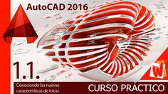 AutoCAD 2016, Descarga de software y material e inicio, curso completo e...