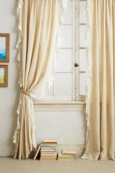 I love these drapes for Miss B's room, but I don't shop at this store, so I need to find an alternate place to buy them.