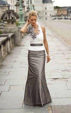 Halter and full length skirt- my favorite so far!