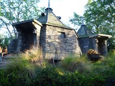 Hagrid's Hut at Universal's Islands of Adventure in Orlando.
