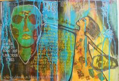 Artjournaling from the heart