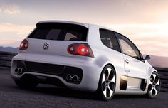 Photographs of the 2007 Volkswagen GTI Concept. An image gallery of the 2007 Volkswagen GTI Concept. Volkswagen Polo, Scooters, Vw R32, Golf 7 Gti, Convertible, Audi, Diesel, Vw Cars, Vans