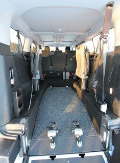 Citroën Spacetourer Tamlans MEGA, spacious wheelchair area Toyota, Peugeot, Travel, Viajes, Destinations, Traveling, Trips