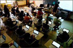 """Chromebooks Gain in K-12 Market, Challenging iPads""  #iPadEd #edtech"
