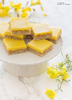 Bocaditos de limón #recetas #postres #limón