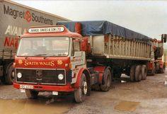 Image Big Tractors, Old Lorries, Volvo Trucks, Big Wheel, Mode Of Transport, Tow Truck, Vintage Trucks, Classic Trucks, South Wales
