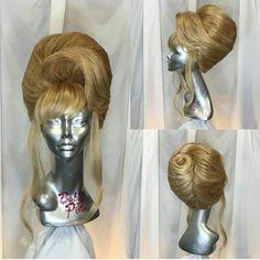 Fancy Hairstyles, Vintage Hairstyles, Wig Hairstyles, Drag Wigs, Hair Reference, Wig Styles, Hairspray, Big Hair, Beauty Ideas