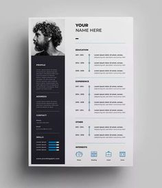 If you like this cv template. Check others on my CV template board :) Thanks for sharing! Web Design, Graphic Design Resume, Resume Design Template, Creative Resume Templates, Design Templates, Creative Resume Design, Cv Design Template Free, Interior Design Resume, Best Cv Template