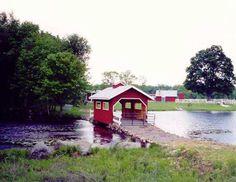 Rock Maple Farm. Across Still Brook north of Stafford.