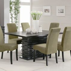 Impressive Modern Dining Room Ideas Dining Room Sets Room And - Contemporary dining room tables