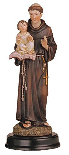 Religious Decoration Decor Figurine Statue Collection (5', St.Anthony509) ** Don't get left behind, see this great product : Christmas Decorations