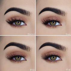 Geheimnisse eines schönen Make-ups für grüne Augen   Mode