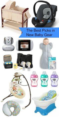 The best picks in new baby gear