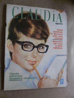 Voodoo Girl: Capas Antigas - Revista Claudia  1962