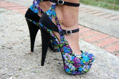 Flower shoes!