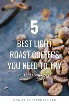 Today I'm going to be covering some of the best light roast coffee that is perfect for those wanting a less full-bodied caffeinated drink!  If you're getting sick and tired of that heavy feeling of coffee on your taste buds and also have lost your enthusiasm for a strong tasting black coffee or espresso, then it is time for a switch to light roast.  Light roast coffee, will leave behind a much sweeter and tangy taste in your mouth, as opposed to Facebook Marketing, Content Marketing, Affiliate Marketing, Media Marketing, Using Facebook For Business, How To Use Facebook, Creating Wealth, Premium Coffee, Managing Your Money