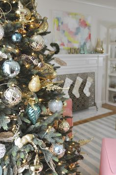 The colors are gentle and different than most christmas decor colors.