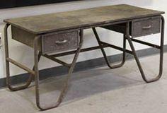 industrial desk  love love love!
