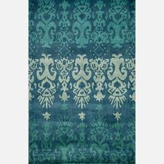 Farran Wool Rug 8x10 Blue now featured on Fab.