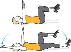 Check out these exercises that strengthen your pelvic floor and help reduce your risk of incontinence, improve your sexual health, and boost your core strength and stability. Gym Workouts, At Home Workouts, Abc Workout, Stomach Workouts, Boxing Workout, Workout Challenge, Pelvic Floor Exercises, Bladder Exercises, Prolapse Exercises