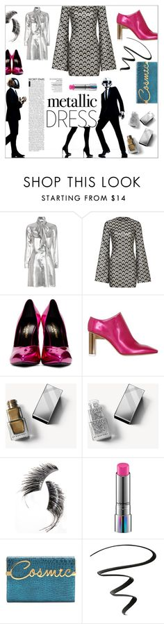 """""""⤷ 278"""" by lovaconsultancy ❤ liked on Polyvore featuring Yves Saint Laurent, Rubin Singer, Alyx, Burberry, Beauty Is Life, MAC Cosmetics, Charlotte Olympia and NYX"""