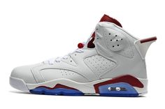 new arrival 4c8ae 03514 Air Jordan 6 Retro Men s Shoes white wine blue  airjordan6retro 016  -   83.99… Air