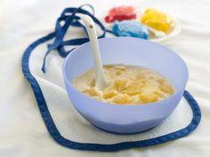 Primele rețete pentru bebelusi pe luni la începutul diversificării - Clubul Bebelusilor Cheeseburger Chowder, Macaroni And Cheese, Soup, Ethnic Recipes, Manioc Flour, Egg Yolks, Recipes For Babies, Tasty Food Recipes