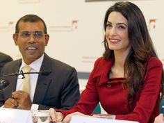 Amal Clooney Holds Press Conference with Freed Maldives President: 'Our Work Does Not Stop Here