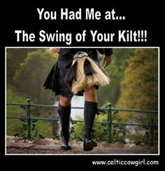 Swing of your kilt