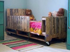 Eco-Friendly-Shipping-Pallet-Bed-for-Sleeping-Enjoyment-with-the-doll