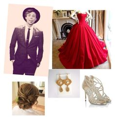 Prom with Ashton by vintagegirl8798 on Polyvore featuring polyvore, fashion, style, Jimmy Choo and clothing