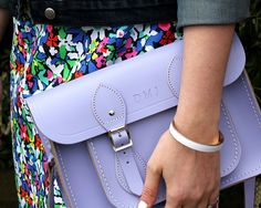 Dressed Up Alligators: cambridge satchel love in lavender