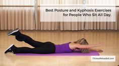 I thought that because my posture looked straight it was also straight. I was wrong. These are the best kyphosis exercises for people who sit and slouch. Kyphosis Exercises, Posture Exercises, Gym Workout For Beginners, Good Posture, Physical Therapy, Gym Workouts, Improve Yourself, Health Fitness, Breast