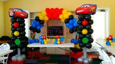 Disney Cars#macqueen#decorationballoon