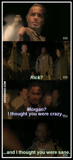The_Walking_Dead_Season_5_Meme_Rick_Morgan_Thought_You_Were_Crazy_Thought_Your_Were_Sane_5x16_DeadShed.jpg 734×1,600 pixels