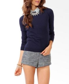 Corduroy Elbow Patch Sweater