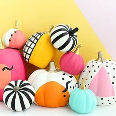 Sunday Funday = crafting and pumpkin painting day! Have you made your 80's inspired pumpkins yet?! Details are on the blog under holiday projects.